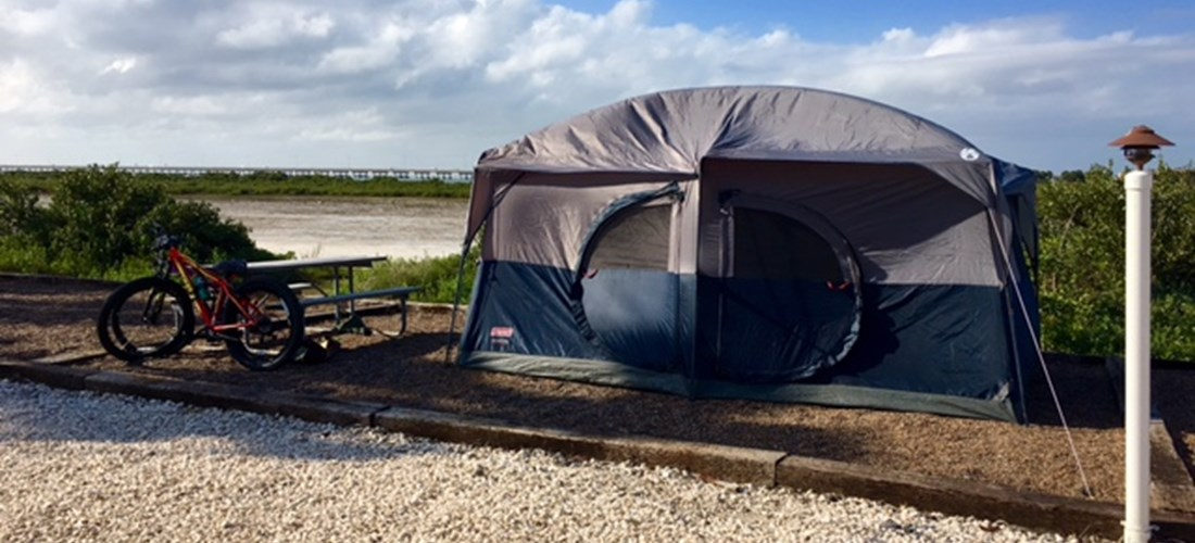 Deluxe Tent Sites on the Bay