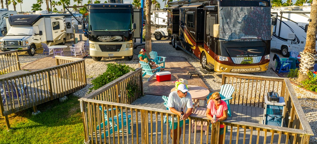 RV with Deck Lifestyle NEW