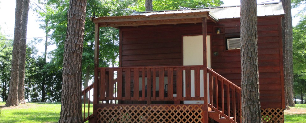 Cabin (w/Bathroom) sleeps 2