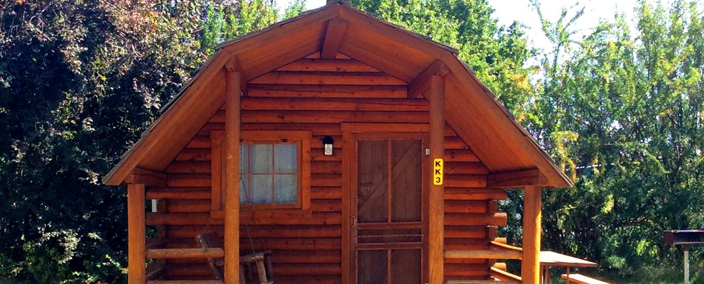 Cozy 1 room  Cabin  (Sleeps 4)