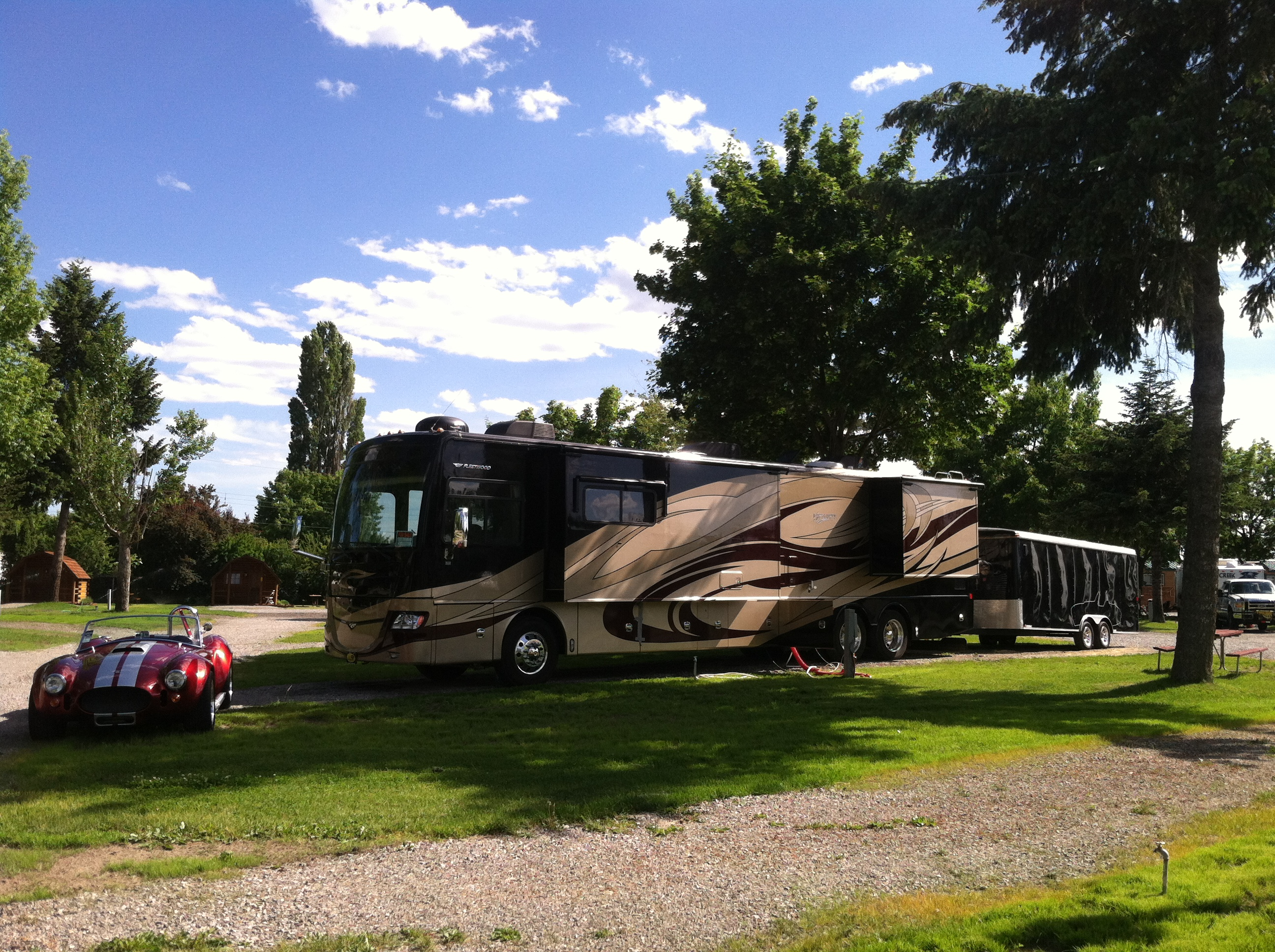 Spokane Valley Washington RV Camping Sites Spokane KOA