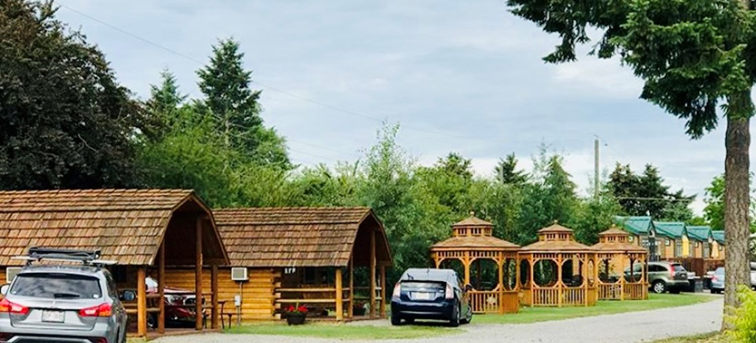 Our many Glamping Options