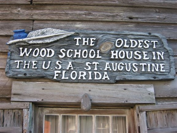 The Oldest Wooden School House in the United States