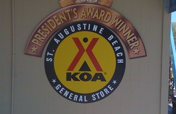 St. Augustine Beach KOA Photo