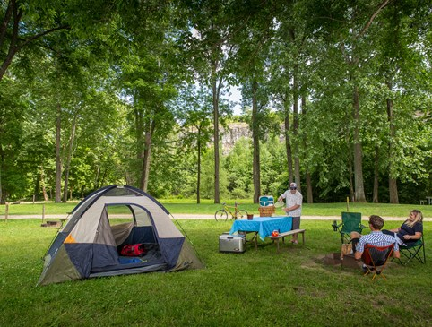 Fall Tent Site  - Stay 1 Night , Get 1 Night Free Photo