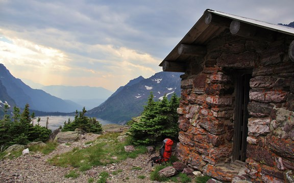 Gunsight Pass Shelter
