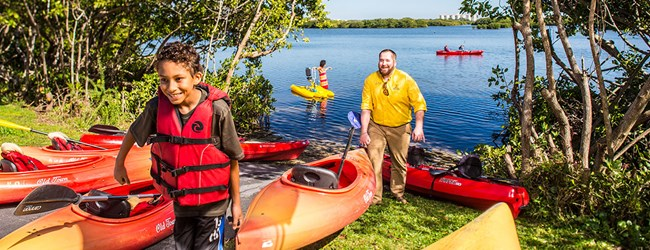 Rent a kayak and launch right from the campground!
