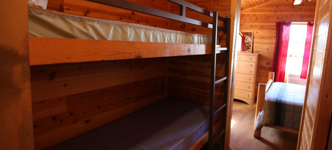 The kids will love the bunk beds!