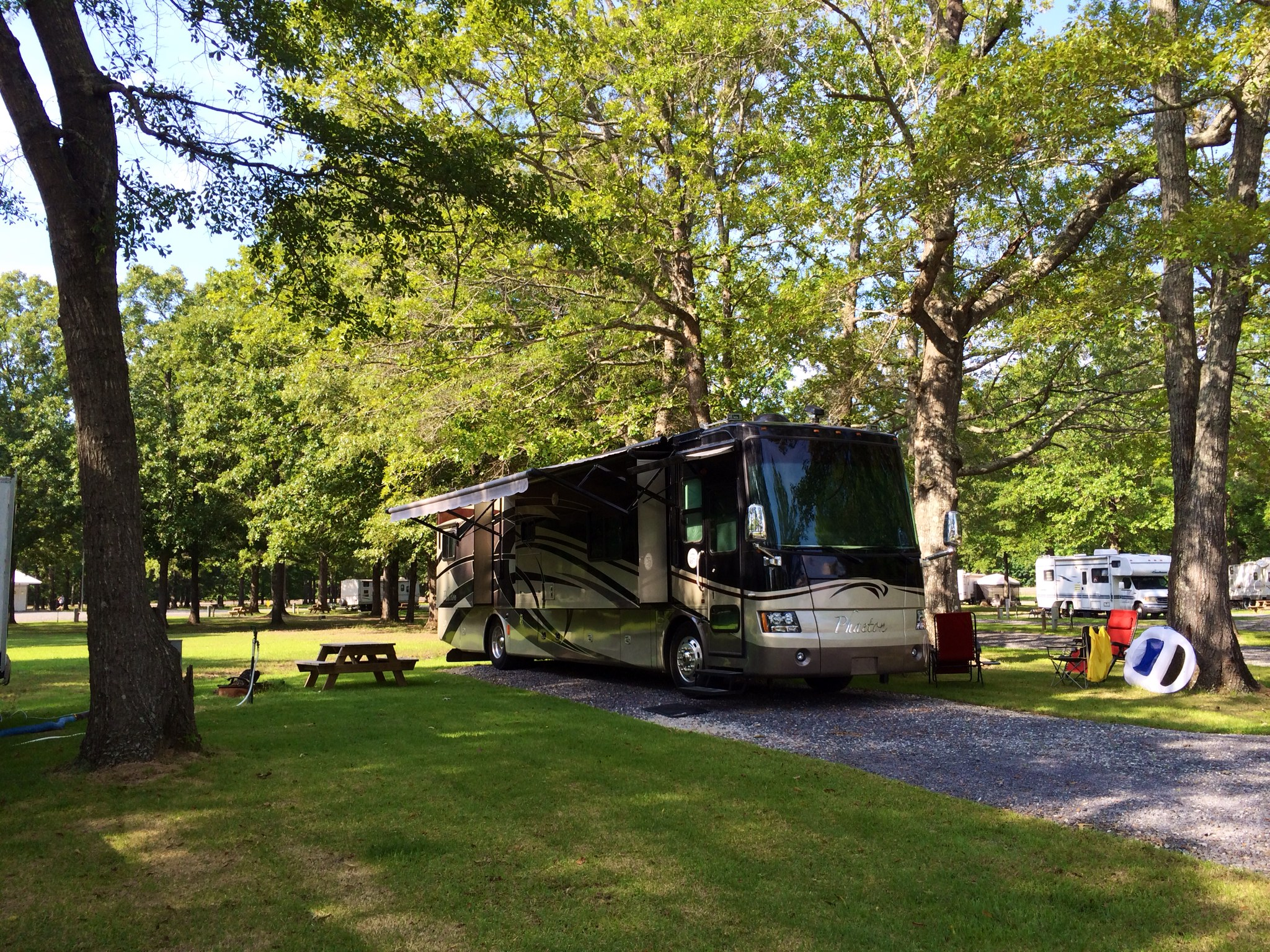 full hookup campgrounds in mississippi
