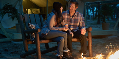 How to Plan a Romantic Camping Getaway #Glampingisforlovers