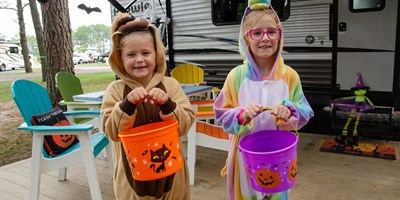 Have a Wicked Halloween at Strafford KOA