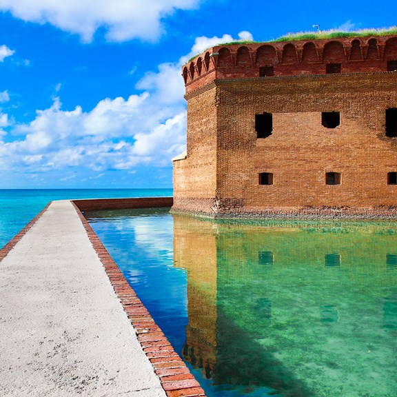 Dry Tortugas National Park and Ferry