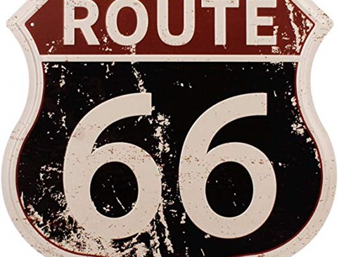route 66 card Photo