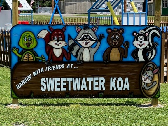 Welcome to the Sweetwater / I-75 / Exit 62 KOA