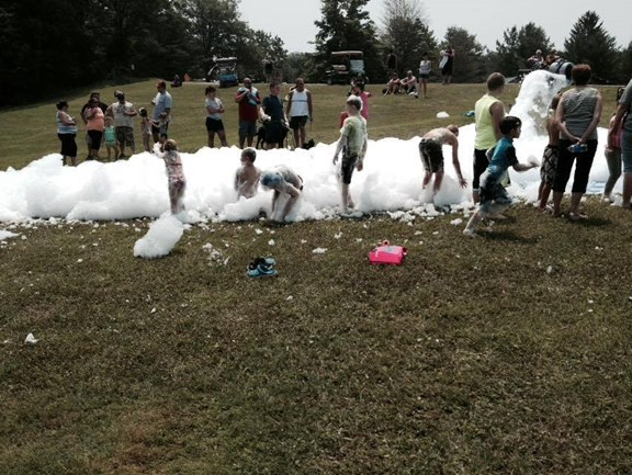 Bubble Machine w/ or w/o Slip N Slide