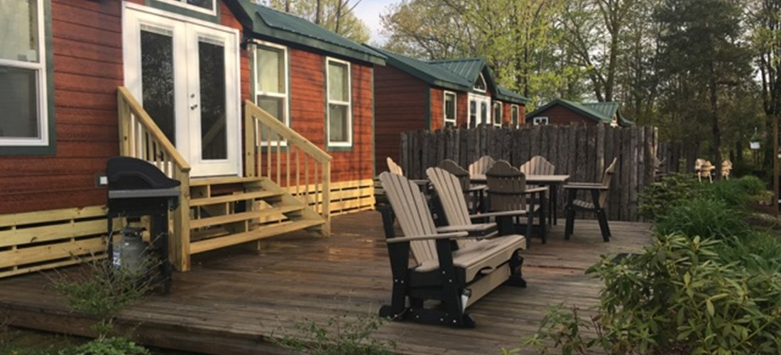 New Cabins on the lake