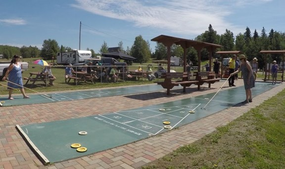 Outdoor Shuffleboard
