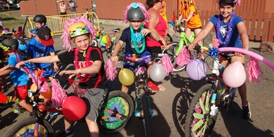 Easter egg Hunt & Golf cart/ Bike parade