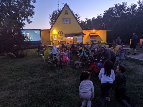 CLOSED - Group Outdoor and Indoor Movie Nights