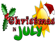 Christmas in July Weekend