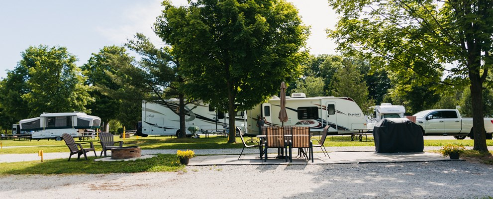 30Amp Deluxe Patio RV Site