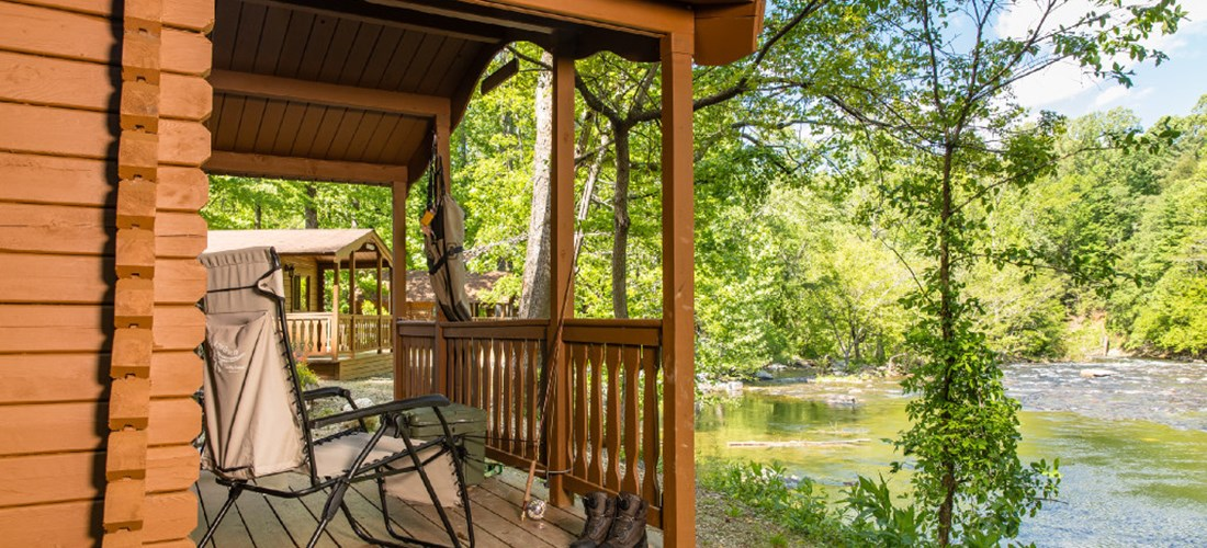 Camping Cabin (No Bathroom) Riverfront (1) Room-2