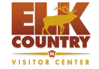 Elk Country Visitor Center–an ideal place to see Pennsylvania's Elk Herd all year round.