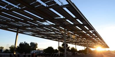 KOA Installs First-Of-Its-Kind Solar Shade Structure