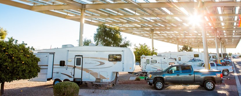 Best RV sites in Tuscon!