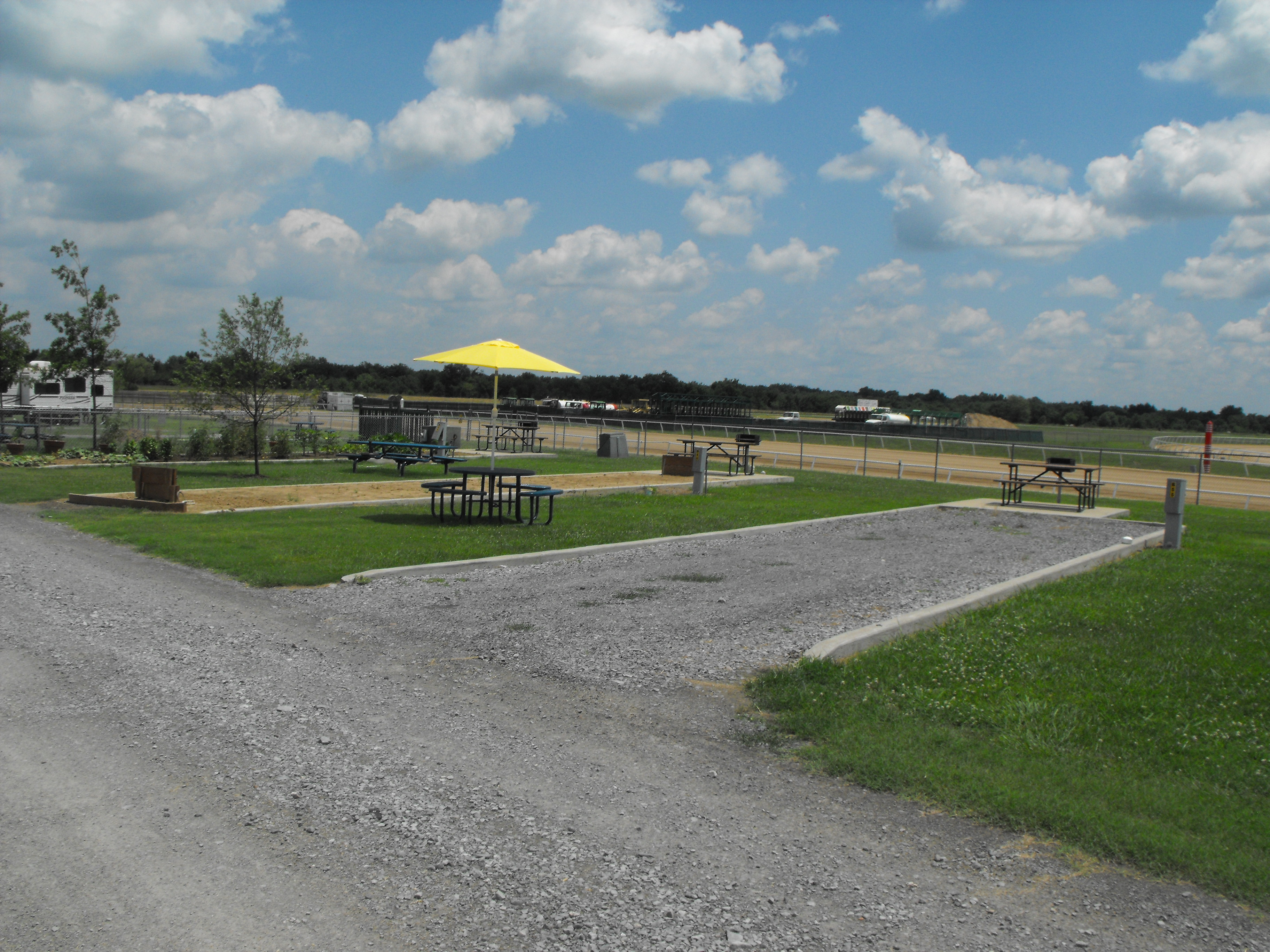 Some RV parks will let you stay long-term if you periodically move your home and/or...