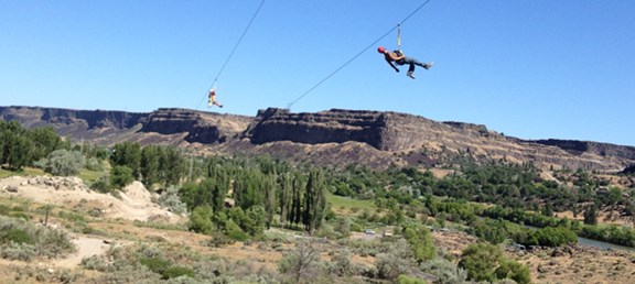 NEW Zip Line on the Snake River