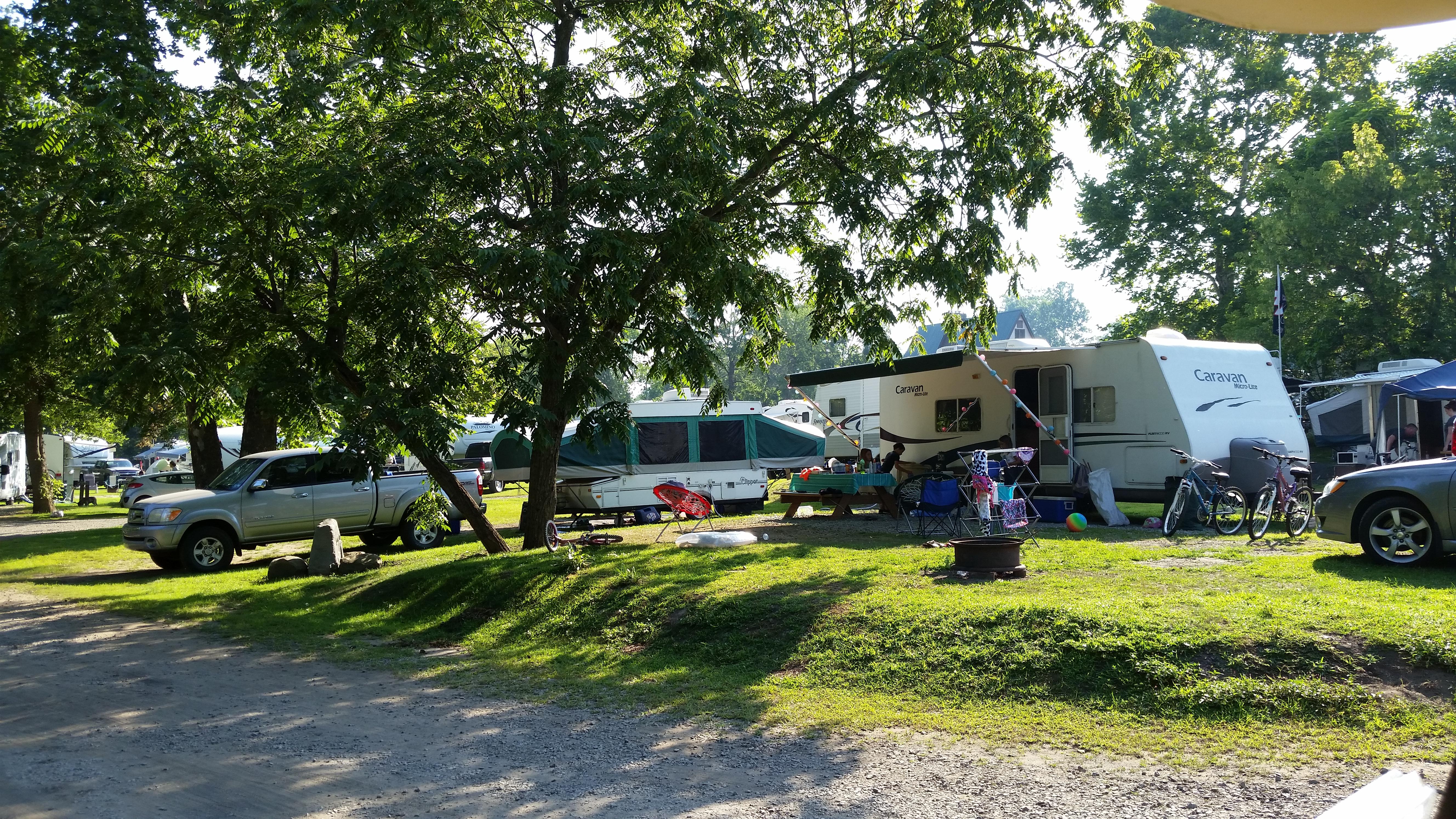 connellsville pennsylvania rv camping sites uniontown koa
