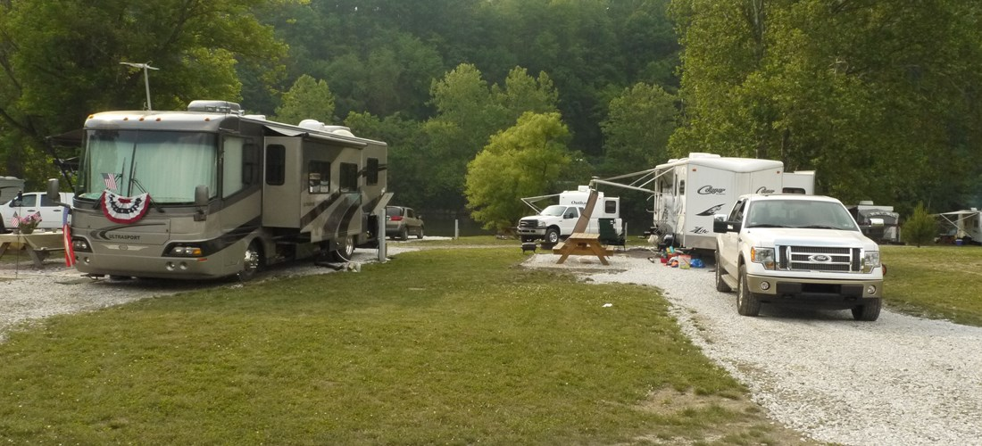 Pull-Thru RV Site