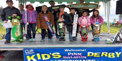 Valdez Kids Pink Salmon Derby