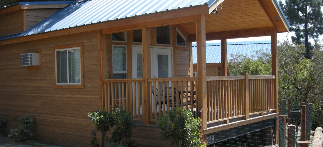 Deluxe One Bedroom Cabin Rivers Edge