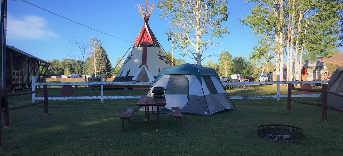 We have a total of 15 tent sites - book early especially for weekends and Holidays.