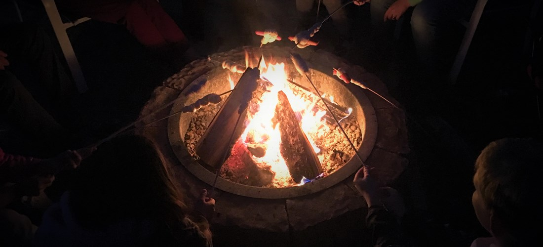 Campfire for an unforgettable camping adventure!