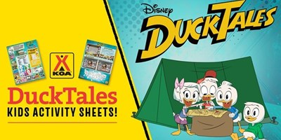 Disney Channel's Ducktales Coming To A KOA Near You