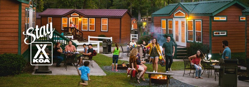 We offer so many ways to close to friends and family within the campground.
