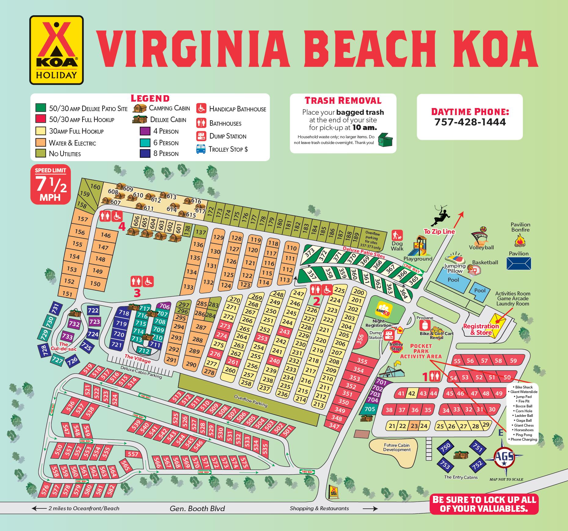 Virginia Beach, Virginia Campground | Virginia Beach KOA on route map, fll map, zip code map, coarsegold california map, slc map,