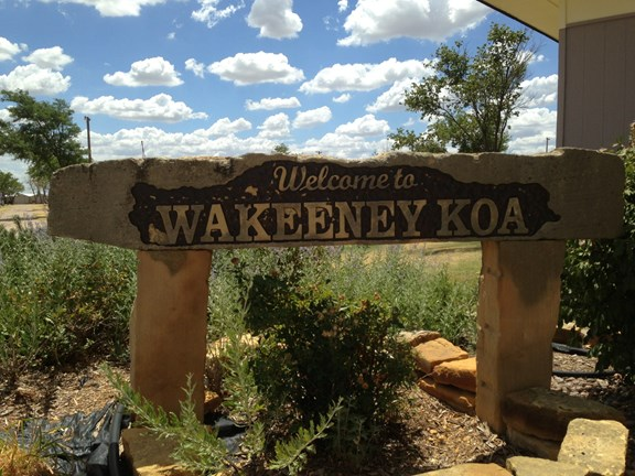 Welcome to the WaKeeney KOA!