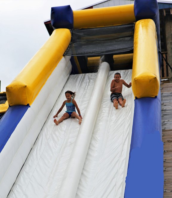 The Plunge - Water Slide