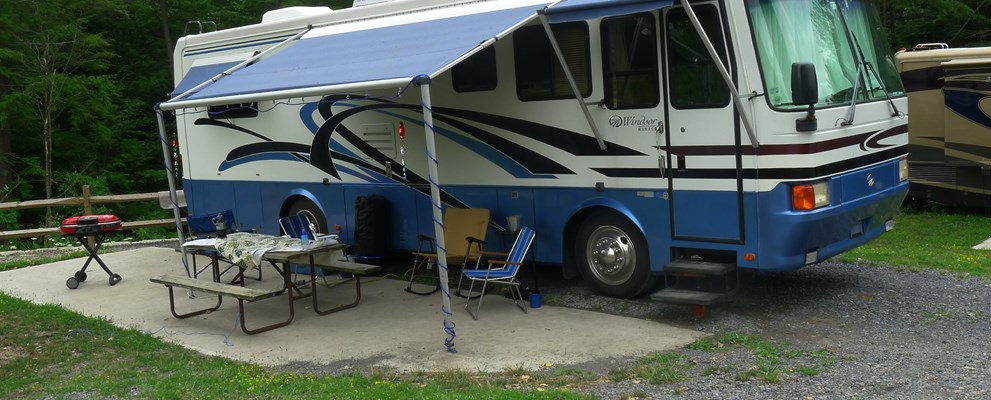 RV site near Seneca Thrills
