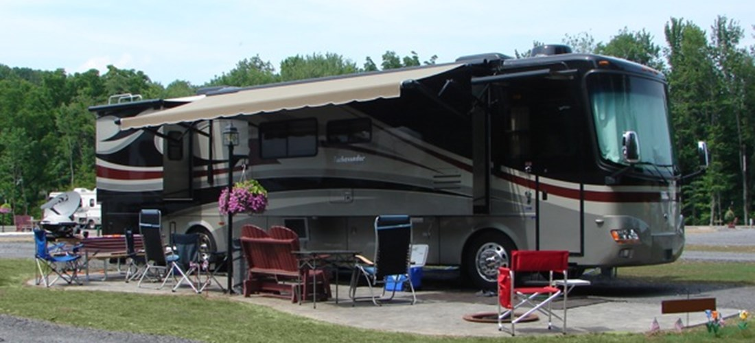 Premium Patio RV Site