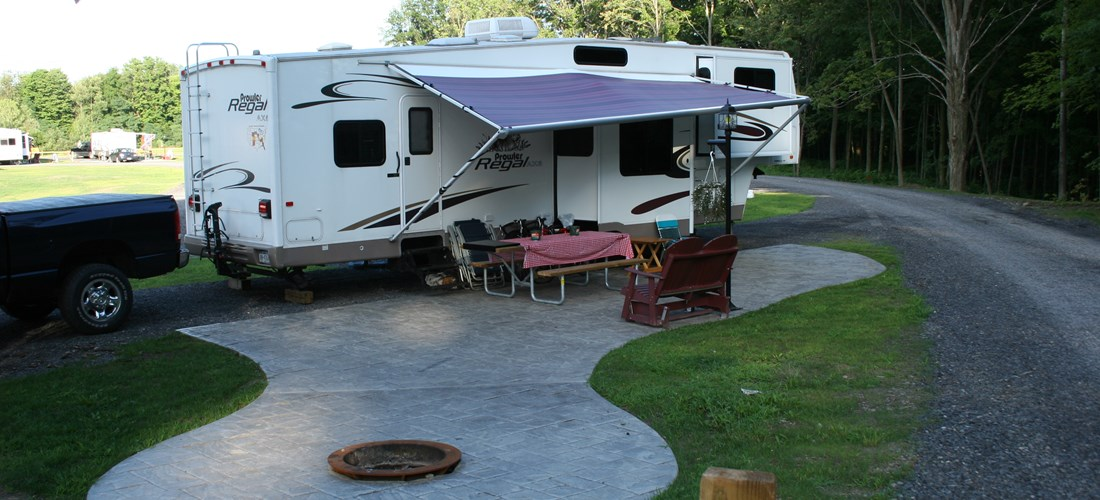 Large RV site in Sunset Acres