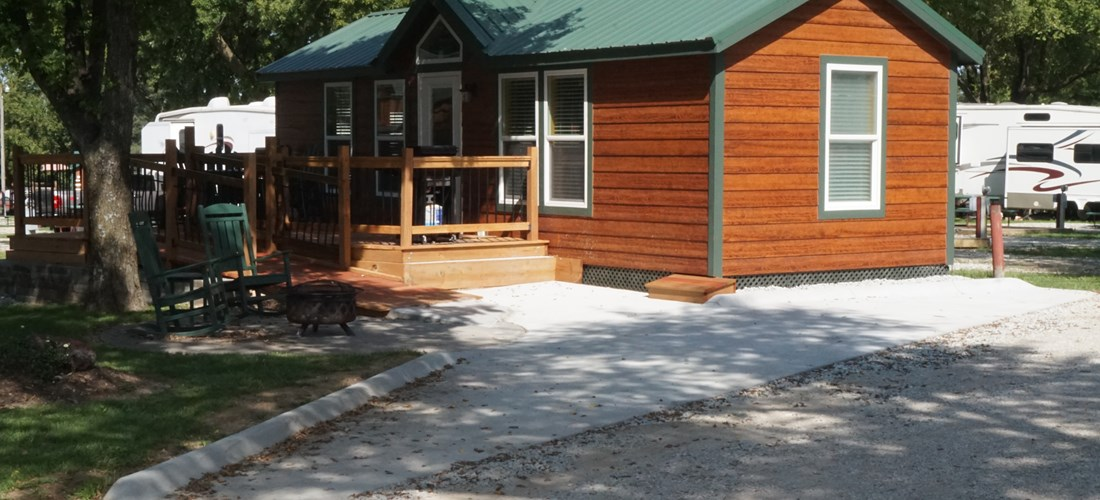 Wheel Chair Accessible Cabin  Site 52