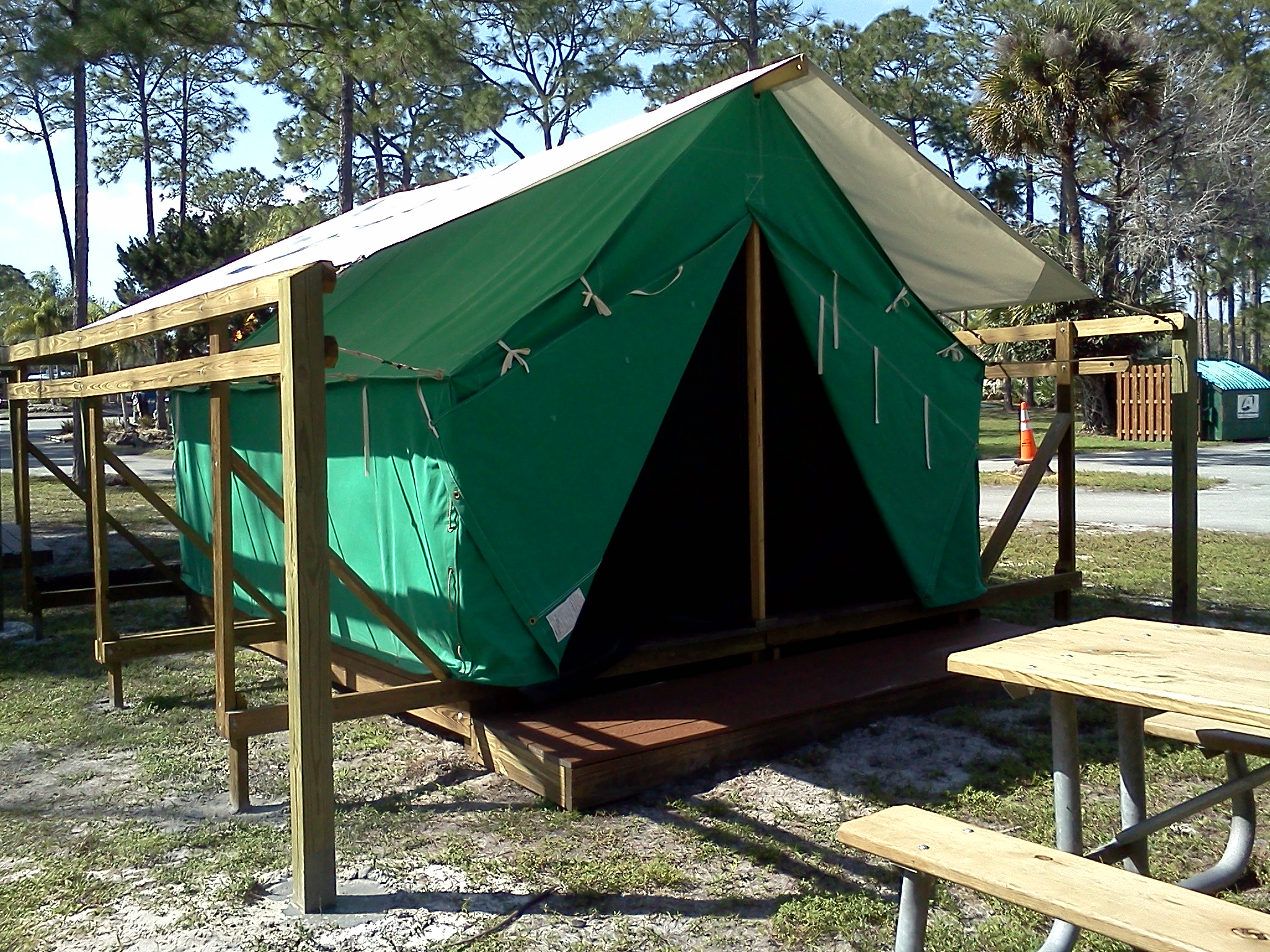 New york camping koa rv parks campgrounds cabins and html for Permanent tent cabins