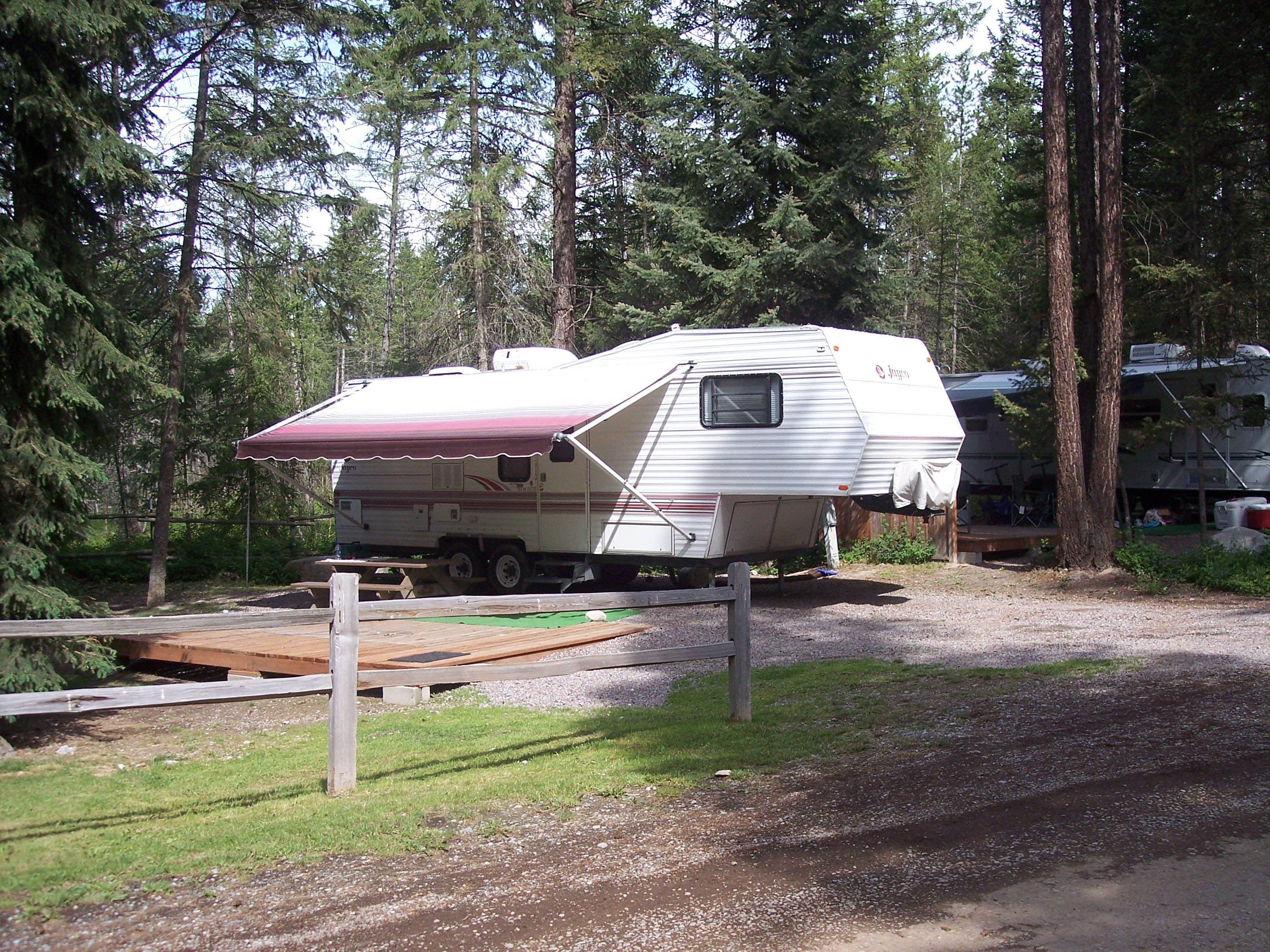 Whitefish Montana RV Camping Sites