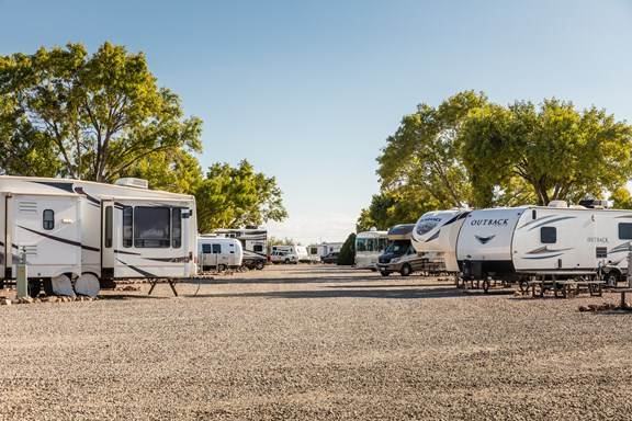 Large & Level RV Sites