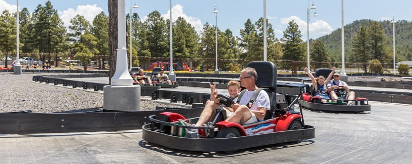 Grand Canyon Go-Karts in Williams, AZ